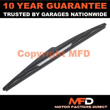 "JEEP WRANGLER SUV 2007 ON 12"" 300MM REAR BACK WINDOW WINDSCREEN WIPER BLADE"