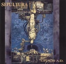 Chaos A.D. by Sepultura (CD, Oct-1996, 2 Discs, Roadrunner Records)