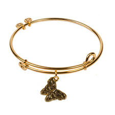 Authentic SOL 240058 Butterfly, Bangle 18K Gold Plated