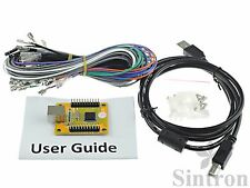 PC PS3 Arcade Game USB Controller Interface Encoder for 2 Joysticks & 27 Buttons