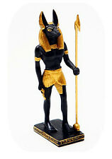 MINIATURE ANCIENT EGYPTIAN ANUBIS FIGURINE STATUE FIGURE COLLECTIBLE GIFT 8901