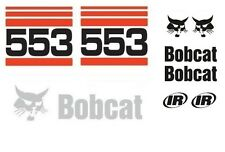 (ORIGINAL LOOK) BOBCAT 553 FULL DECAL STICKER SET KIT SKID STEER Cc