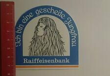 Aufkleber/Sticker: Ich bin eine gescheite Jungfrau Raiffeisenbank (221016153)
