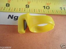 FINGER RING TYPE THREAD YARN STRING CUTTER Sewing Notions Yellow Medium Size