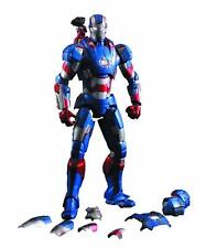 SUPER ALLOY 1/12 SCALE Iron Man 3 Iron Patriot Action Figure NIB