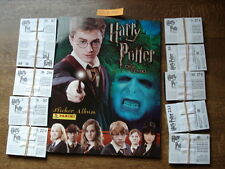 PANINI EMPTY ALBUM + ALL 288 STICKERS HARRY POTTER  EN DE ORDE VAN DE FENIKS