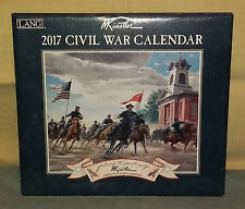 Calendario da parete Lang 2017 CIVIL WAR - Wall Calendar NUOVO Kunstler
