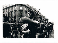 DÉFILÉ MILITAIRE, PHOTO MOBA PRESSE 14 JUILLET 1981 A PARIS