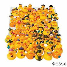50PC RUBBER DUCK ASSORTMENT Vinyl Rubber Ducky Assortment HUGE LOT BRAND NEW