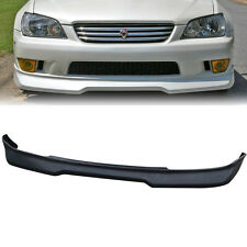 Fit 01-05 IS300 Poly urethane black front bumper lip spoiler body kit new