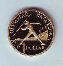 1992 Australia $1 Proof Coin for the Barcelona Olympic Games out of a Set