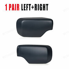 Right+Left Door Mirror Cover Cap Caps FOR BMW E46 E39 325i 330i 525i 530i 540i