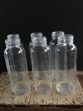 Glass Baby Bottles Evenflo Set of 6 Vintage 8oz