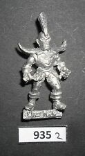 Warhammer Blood Bowl Metal 2nd Ed DARK ELVES ELF LINEMAN 1988 W 935