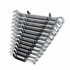 12pc Spanner Combination Set (8-19mm) Wrench Pipe DIY Tools with Storage Rack