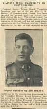 1919 Herbert Nelson Sheard Dewsbury Rd Ossett Military Medal