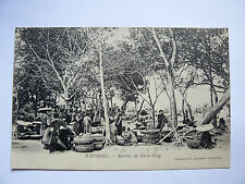 CPA Ancienne Carte Postale HAIPHONG Marché Luch-Tray Indochine Vietnam Old Card