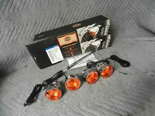 NEW HARLEY FLAMED TURN SIGNALS SPORTSTER DYNA SOFTAIL VROD 69845-08