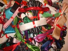 Assorted Mixed Ribbon Bundle / Offcuts - 1m x 10 - Ideal for Bowdabra