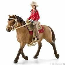 Schleich 42112 - Western rider with Horse - Farm Life Stable