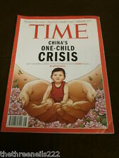 TIME MAGAZINE - CHINA'S ONE CHILD CRISIS - DEC 2 2013