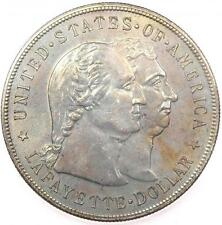 1900 Lafayette Silver Dollar $1 - Icg Ms60 Details - Rare Certified Bu Coin