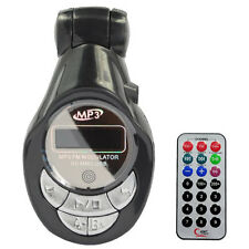 FM Radio Transmitter Car MP3 USB SD MMC LCD Remote - New
