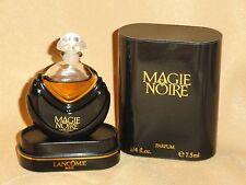 Vintage LANCOME MAGIE NOIRE 7.5 ml / 1/4 oz Parfum France