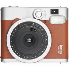 Fuji Instax Mini 90 Neo Classic Instant Film Camera (Brown)