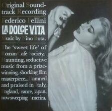 Nino Rota ‎– La Dolce Vita OST Comp LP Doxy Cinematic Fellini