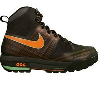 NIKE AIR ZOOM ASHIKO ACG 375726 081 Black Orange Spark Hiking Trail Boots DS 9.5