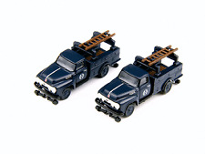 Classic Metal Works N Scale Santa Fe RR F-350 Utility Trucks 50285