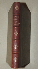 ARMAND BELLEE - RECHERCHES INSTRUCTION PUBLIQUE DEPARTEMENT SARTHE  1875  RARE