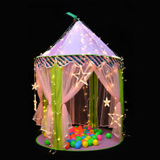 Princess Castle Children Play Tent Indoor&Outdoor Pink Playhouse Gift for Kids