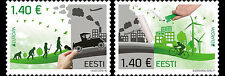 Estland / Estonia - Postfris/MNH - Complete set Europe, Think Green 2016