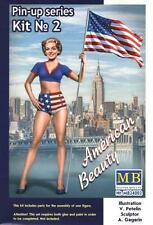 "American Beauty ""Betty"" - U.s. Pin-up Girl # 24002 1/24 Masterbox"