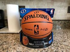 Official Spalding 2006 Cross Traxxion NBA Game Ball Leather Basketball NEW