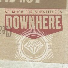 So Much for Substitutes by Downhere (CD, Jun-2003 Word) CCM Christian rock pop