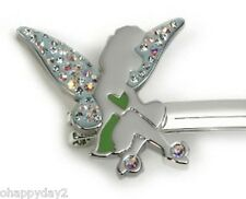 signed Swarovski~ TINKER BELL~ Crystal HAIR CLIP~ New ~ $85 ~  too cute Tink !