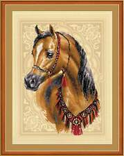 "Counted Cross Stitch Kit RIOLIS - ""Arabian Horse"""