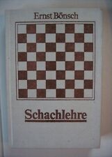 Schachlehre von Ernst Bönsch, Sportverlag 1987