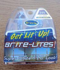 HARLEY H1 LIGHT BULB PAIR BLUE XENON H1 55w/100w Biker's Choice 223977