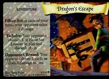 Harry Potter Trading Card Game DRAGON'S ESCAPE 4/116 Adult Owned Near Mint HOLO
