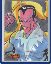 Sinestro 2015 Cryptozoic DC Comics Super Villains 1/1 Sketch Card