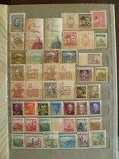 Czechoslovakia collection, including MNH & Tab sets, 4 S/Sheets, see 2 scans.