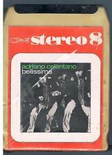 ADRIANO CELENTANO BELLISSIMA MC STEREO 8 MUSICASSETTA CASSETTE SIGILLATA!!!