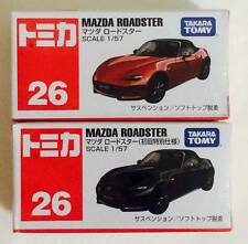 Takara Tomy Tomica No.26 MAZDA ROADSTER ( RED & BLACK ) - Hot Pick