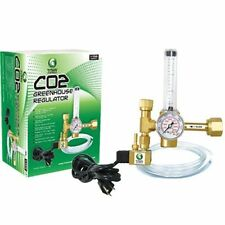 Titan Controls CO2 Regulator - greenhouse hydroponics grow room pressure gauge