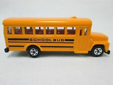 1976 Tomy Tomica YELLOW SCHOOL BUS No. F5 Japan Diecast Metal