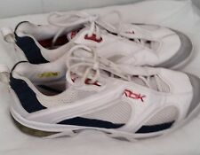 Reebok white blue red premier Tennis Shoes dmx shear  sneakers mens size 11.5